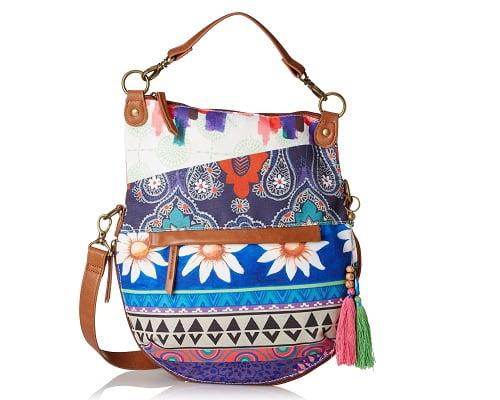 Bolso Desigual Folded Happy Bazar barato, bolsos baratos, chollos en bolsos, ofertas en bolsos