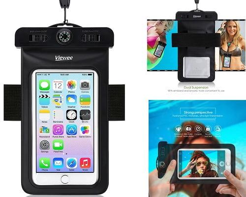 Funda impermeable para smartphone barata, fundas para teléfonos baratas, chollos en fundas impermeables para móviles, ofertas en fundas impermeables