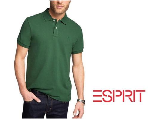 Polo Esprit básico barato, polos de marca baratos, chollos en ropa de marca, chollos en polos