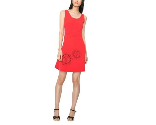 Vestido Desigual Barceloneta barato, vestidos baratos, chollos en vestidos, ofertas en vestidos