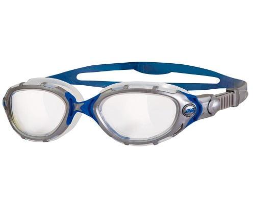 Gafas de natación Zoggs Predator Flex Clear baratas, gafas de natación baratas, chollos en gafas de natación, ofertas en gafas de natación