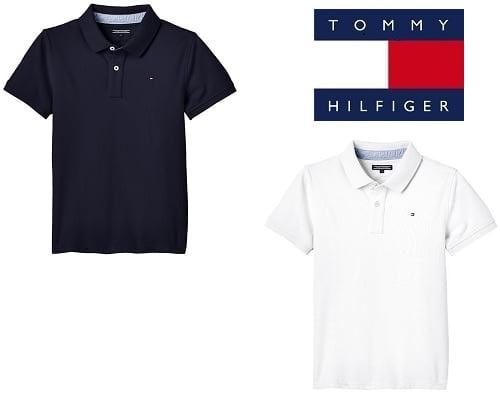 Polo para niños Tommy Hilfiger barato, ropa de marca barata, chollos en polos de marca, polos Tommy Hilfiger baratos