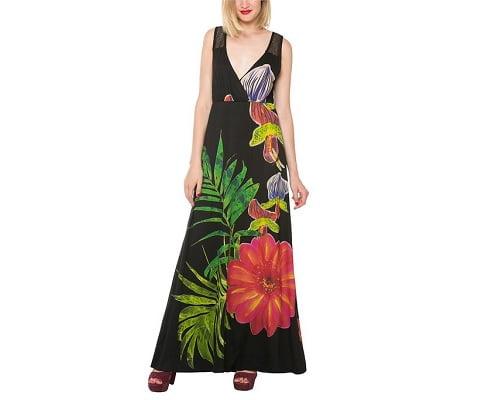 Vestido Desigual Bárbara barato, vestidos baratos, chollos en vestidos, ofertas en vestidos