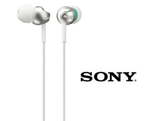 Auriculares de botón Sony MDR EX110LP baratos, auriculares baratos, chollos en auriculares, ofertas en auriculares