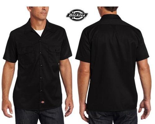 Camisa de manga corta Dickies barata, camisas baratas, chollos en camisas, ofertas en camisas
