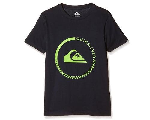 Camiseta para niño Quiksilver barata, ropa de niño barata, chollos en ropa de niños, ofertas en ropa de niños