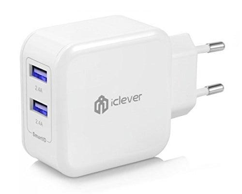 Cargador USB iClever BoostCube barato, cargadores USB baratos, chollos en cargadores USB, ofertas en cargadores USB