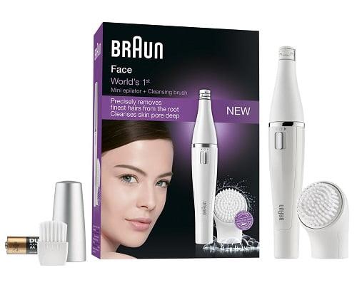 Depiladora y cepillo de limpieza facial Braun Face 810 barata, depiladoras faciales baratas, cepillos de limpieza facial baratos, chollos en depiladoras faciales,