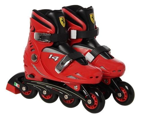 Patines en linea Ferrari FK7 baratos, patines en linea para niños baratos, chollos en patines en linea