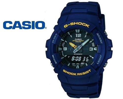 Reloj Casio G-Shock G-100 barato, relojes G-Shock baratos, chollos en relojes G-Shock, relojes baratos, chollos en relojes