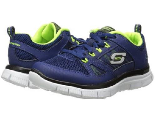Zapatillas deportivas para niño Skechers Flex Advantage baratas, zapatillas de deporte baratas, chollos en zapatillas de deporte, ofertas en zapatillas de deporte