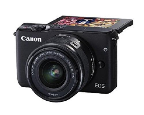 Cámara de fotos compacta canon EOS M10 barata, cámaras de fotos baratas, chollos en cámaras de fotos, ofertas en cámaras de fotos