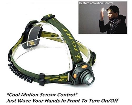 ¡TOMA CHOLLO! Linterna frontal OxyLED MH20 con sensor de movimiento y código exclusivo sólo 8.99 euros