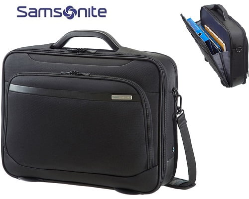 Maletín Samsonite Vectura Office Case Plus barato, maletines baratos, chollos en maletines, ofertas en maletines, maletines de marca baratos