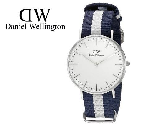 Reloj Daniel Wellington Glasgow Silver barato, relojes baratos, relojes Daniel Wellington baratos, chollos en relojes, ofertas en relojes