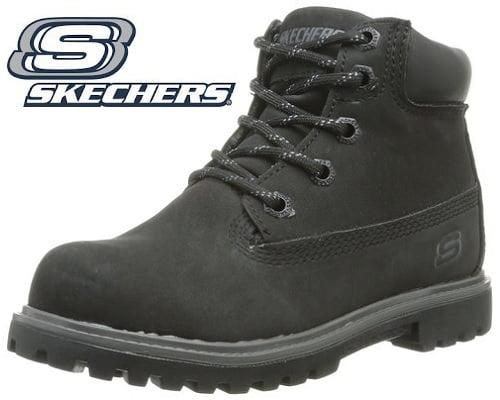 Botas Skechers Mecca Bunkhouse para niños baratas, botas de marca baratas, chollos en botas de marca, botines baratos, chollos en botines