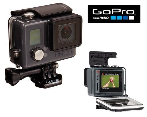 Cámara deportiva GoPro Hero + LCD barata, GoPro baratas, chollos en GoPro, videocámaras baratas, chollos en videocámaras, ofertas en videocámaras, cámaras deportivas baratas, chollos en cámaras deportivas
