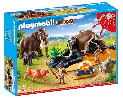 Campamento Edad de Piedra de Playmobil 5087 barato, juguetes Playmobil baratos, chollos en Playmobil, juguetes baratos, chollos en juguetes