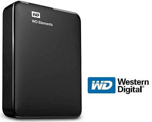 Disco duro externo Western Digital Elements 2TB barato, discos duros externos baratos, chollos en discos duros externos, ofertas en discos duros externos