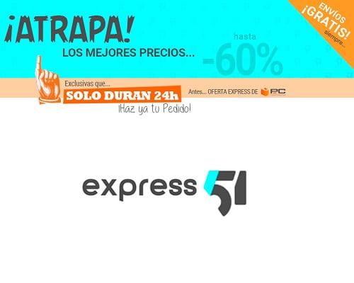 Ofertas de 24 horas de Express51 con envío gratis, Express51 de PCComponentes