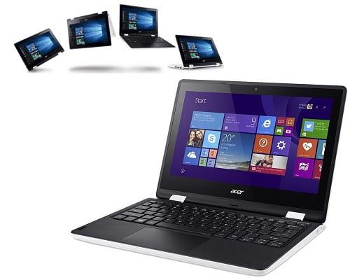 Ordenador portátil convertible Acer R3-131T-C7YT barato, ordenadores portátiles baratos, chollos en ordenadores portátiles, chollos en ordenadores portátiles