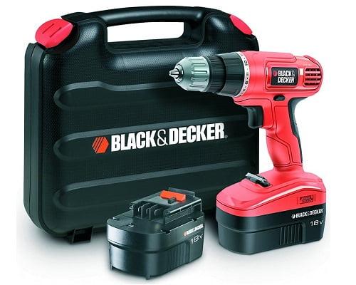 Taladro atornillador Black&Decker EPC18CABW barato, taladros baratos, chollos en taladors, atornilladores eléctricos baratos, chollos en atornilladores eléctricos