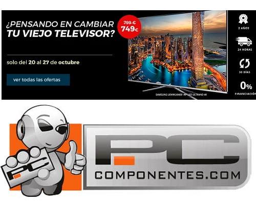 Televisores baratos, chollos en televisores, ofertas en televisores
