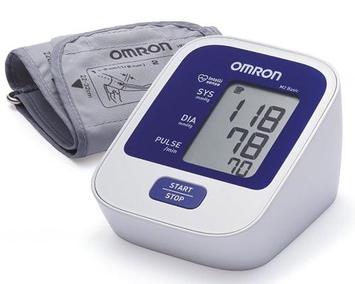 Tensiómetro de brazo Omron M2 barato, tensiómetros baratos, chollos en tensiómetros, ofertas en tensiómetros