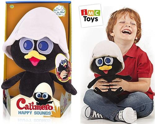 Calimero Happy Sounds de IMC Toys barato, peluches baratos, muñecos baratos, chollos en peluches, chollos en muñecos