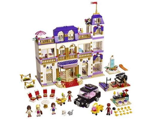 El gran hotel de Heartlake de LEGO barato, juguetes baratos, chollos en juguetes, ofertas en juguetes