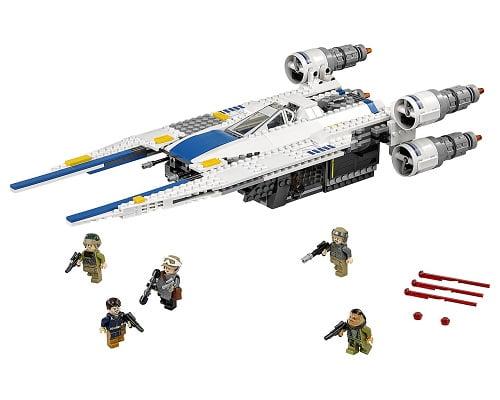 Figura rebel U-Wing Fighter LEGO Star Wars barata, juguetes baratos, chollos en juguetes, ofertas en juguetes