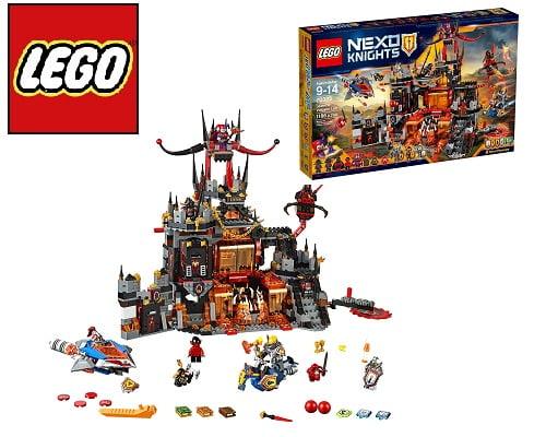 Guarida volcánica de Jestro de Lego barata, juguetes baratos, chollos en juguetes, juguetes Lego baratos, chollos en juguetes Lego