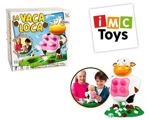 Juego de mesa La vaca loca de IMC Toys barato, juegos de mesa baratos, chollos en juegos de mesa, juguetes baratos, chollos en juguetes
