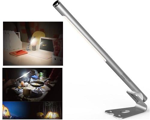 Lámpara de escritorio Tactil dodocool LED portátil barata, lámparas LED baratas, chollos en lámparas de LED
