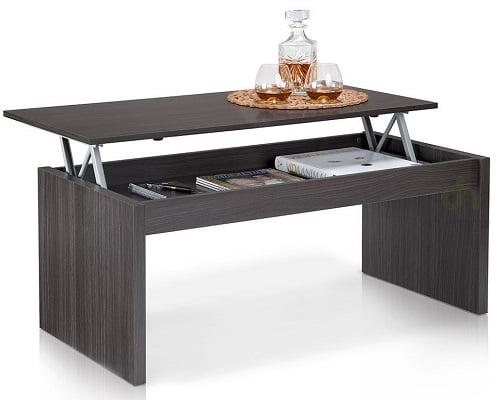 Mesa de centro elevable Due-home Zenit barata, mesas de centro baratas, chollos en mesas de centro, oferta en mesas de centro