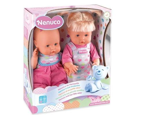 Nenuco y su hermanita baratos, muñecas baratas, chollos en muñecas, ofertas en muñecas