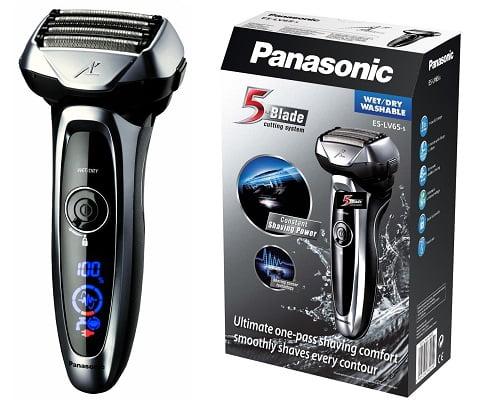 Afeitadora Panasonic ES-LV65 barata, afeitadoras baratas, chollos en afeitadoras, máquinas de afeitar eléctricas baratas, chollos en máquinas de afeitar eléctricas