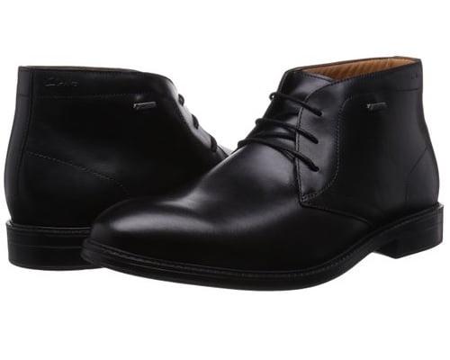 Botas de cuero para hombre con GORE-TEX Clarks Chilver Hi GTX baratas, botas baratas, chollos en botas, ofertas en botas