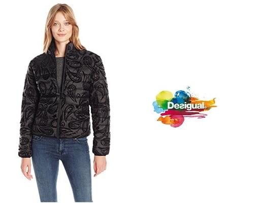 Chaqueta Desigual Milagros barata, chaquetas baratas, chollos en chaquetas, ofertas en chaquetas