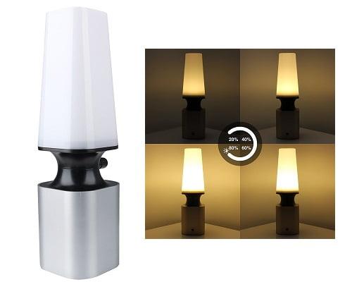 Lámpara de mesita LED USB Aquiver barata, lámparas de mesita baratas, chollos en lámparas de mesita, ofertas en lámparas de mesita