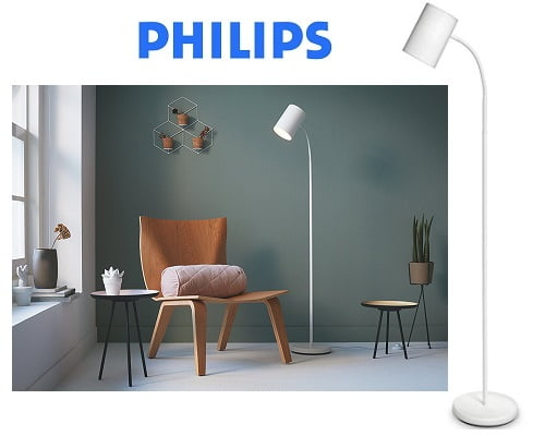 Lámpara de pie Philips myLiving Himroo barata, lámpara de pie barata, chollos en lámparas de pie