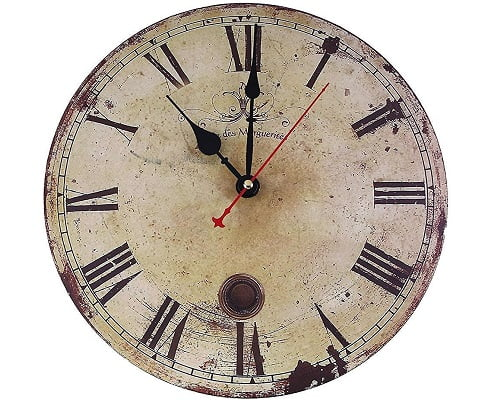 Reloj de pared Soledi Vintage barato, relojes de pared baratos, chollos en relojes de pared, ofertas en relojes de pared