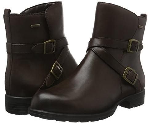 Botas Clarks de Gore-Tex para mujer baratas, botas baratas, chollos en botas, ofertas en botas