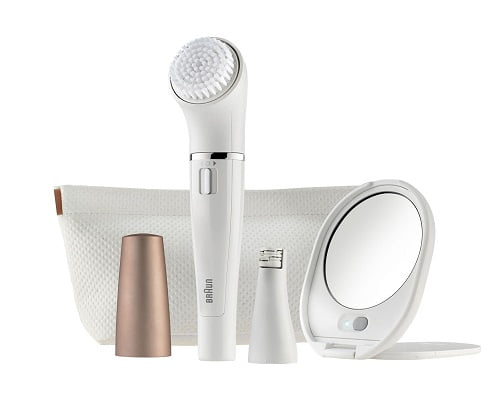 Depiladora facial y cepillo de limpieza Braun Face 831 Beauty Edition barata, depiladoras faciales baratas, chollos en depiladoras faciales, ofertas en depiladoreas faciales