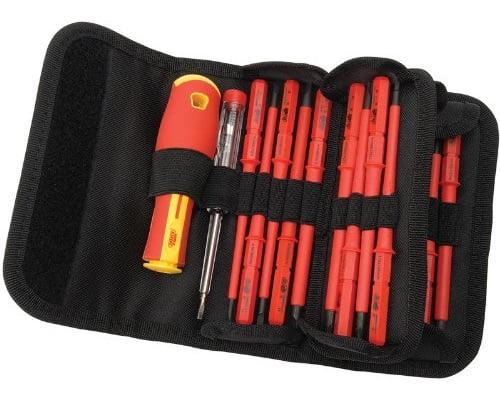 Estuche de destornilladores aislados Draper 5776 baratos, destornilladores baratos, chollos en destornilladores, ofertas endestornilladores