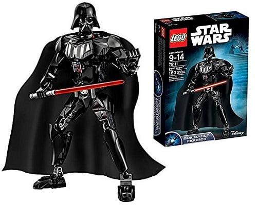 Figura de Darth Vader de Lego Star Wars barata, juguetes baratos, chollos en juguetes, ofertas en juguetes, figuras de star wars baratas