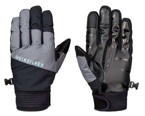 Guantes para la nieve Quiksilver Method baratos, guantes baratos, chollos en guantes, ofertas en guantes