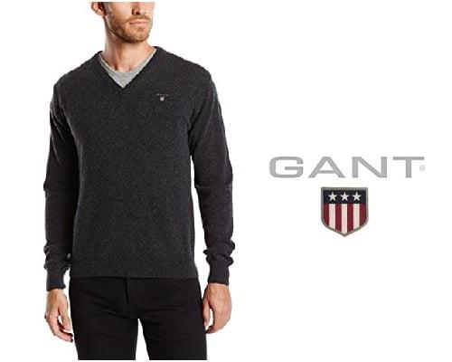 Jersey de lana Gant barato, jerseys de marca baratos, chollos en jerseys de marca, ofertas en jerseys de marca,