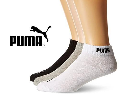 Pack de 6 pares de calcetines Puma Promotion barato, calcetines de deporte baratos, chollos en calcetines de deporte, ofertas en calcetines de deporte