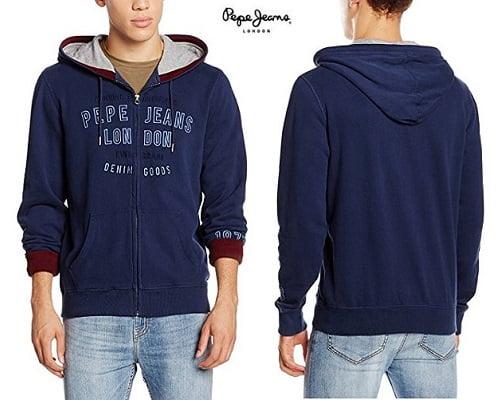 Sudadera Pepe Jeans Tryton barata, sudaderas baratas, chollos en sudaderas, ofertas en sudaderas, ropa de marca barata